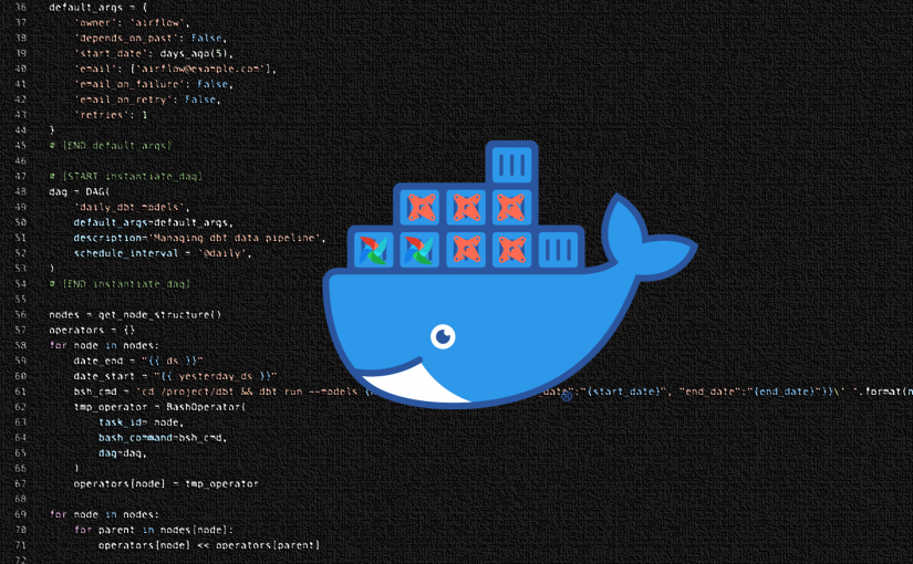 Apache Airflow and DBT on Docker Compose